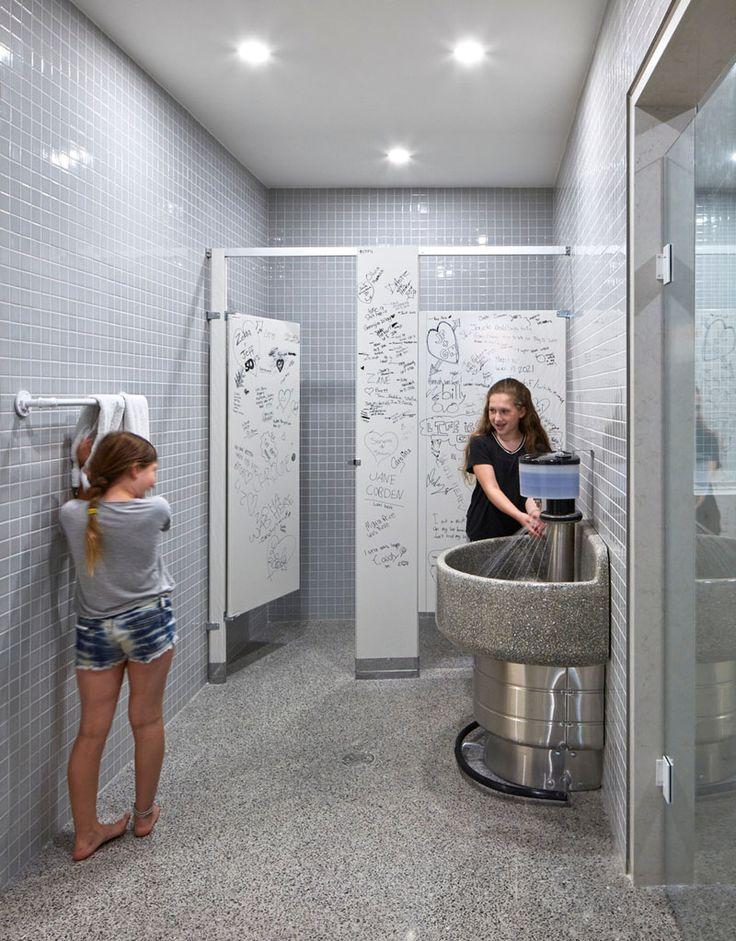 School Bathroom Stalls