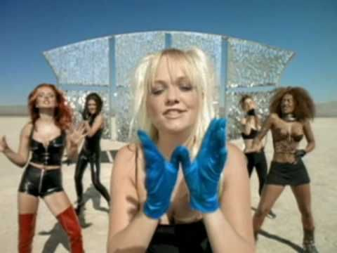 Spice Girls - Say You'll Be There. I loved the Spice Girls and I still do! It's one of my favourite music videos of theirs