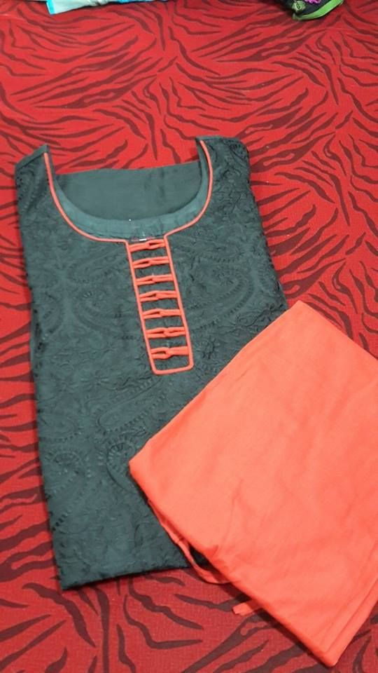 How to make different types of kurthi neck patterns