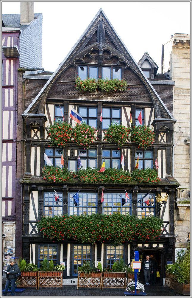 Les 25 meilleures id es de la cat gorie restaurant rouen for Auberge de la vieille maison