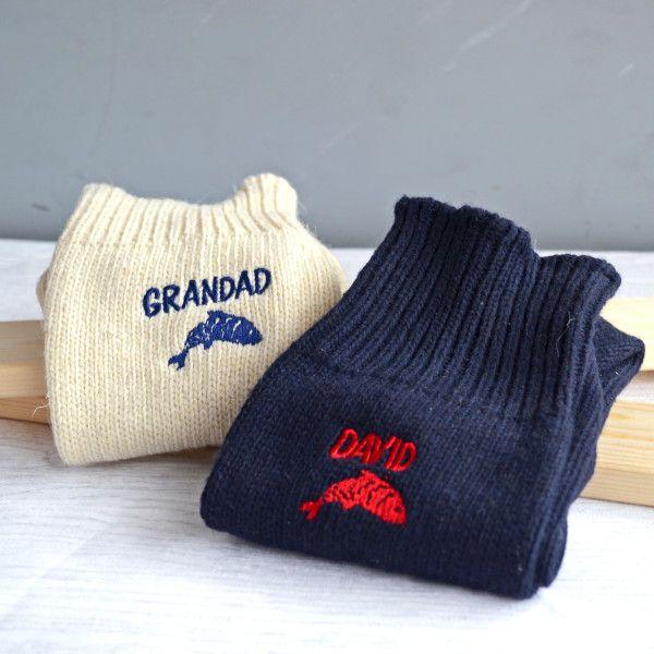 Personalised Fishing Socks