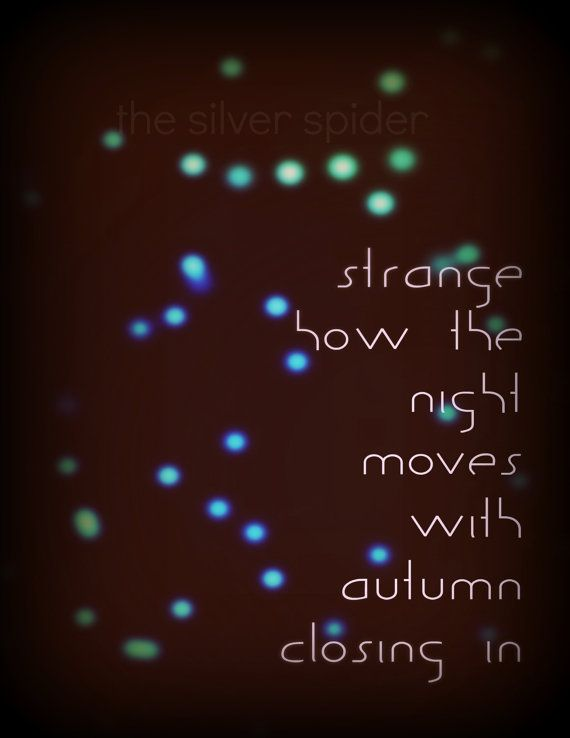 fall sale // Night Moves Bob Seger Lyrics by TheSilverSpider