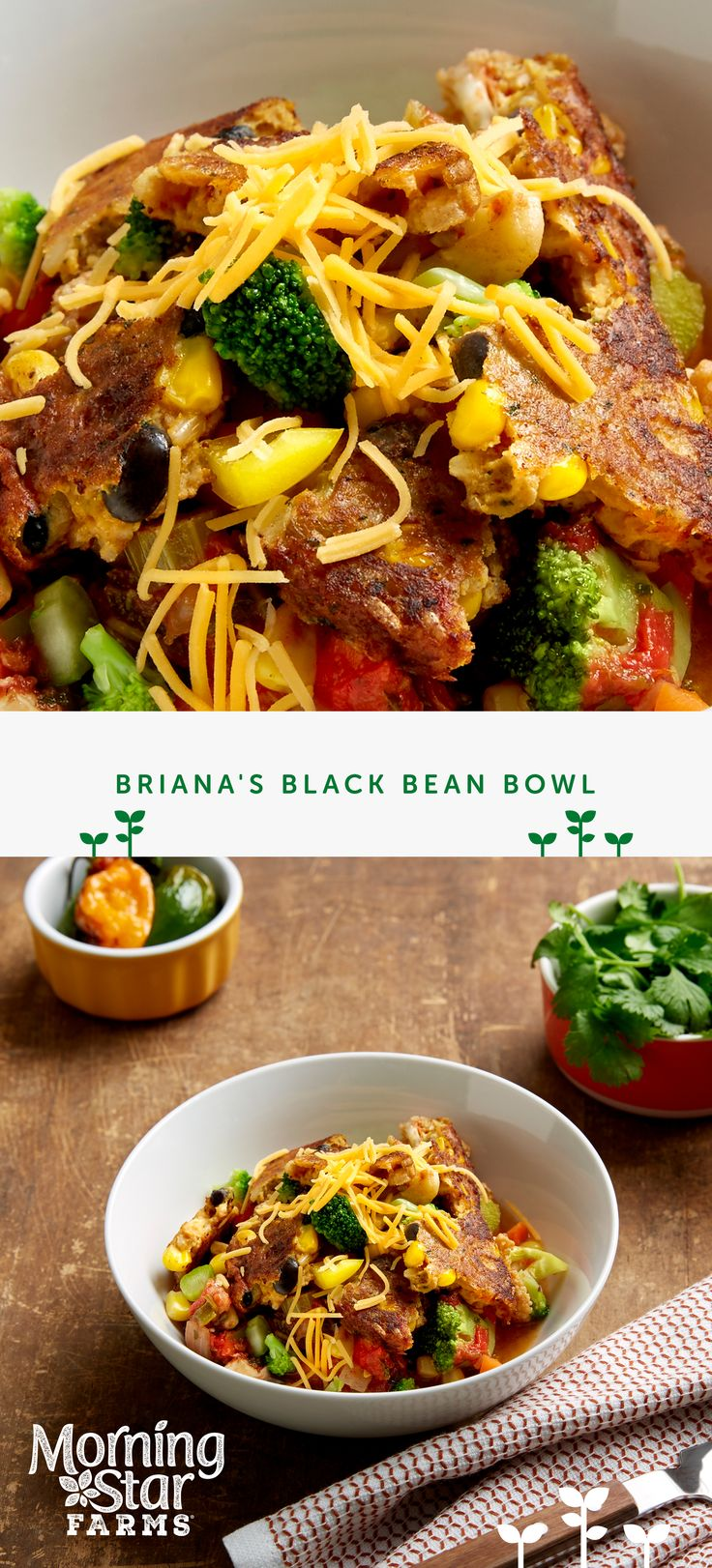 Who knew black beans were so packed with protein? Try pairing them tonight with your favorite veggies in Briana's black bean bowl.