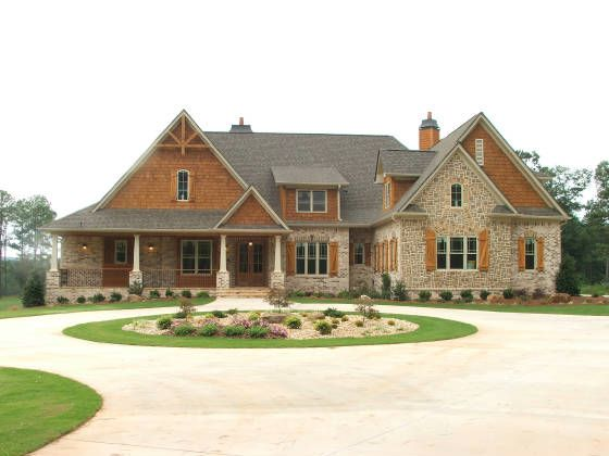 238 best images about dream house on pinterest house Brick home plans with wrap around porch