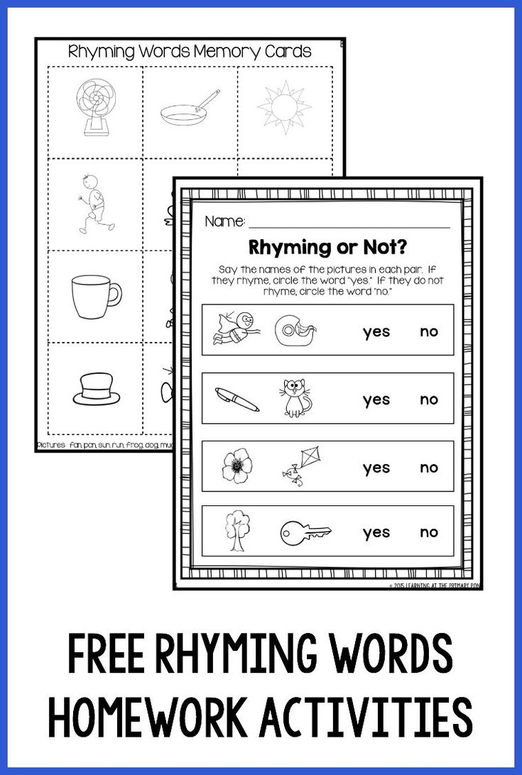 Worksheet Rhyme Words For Kindergarten 1000 ideas about rhyming words in english on pinterest download this free memory game and or not worksheet perfect
