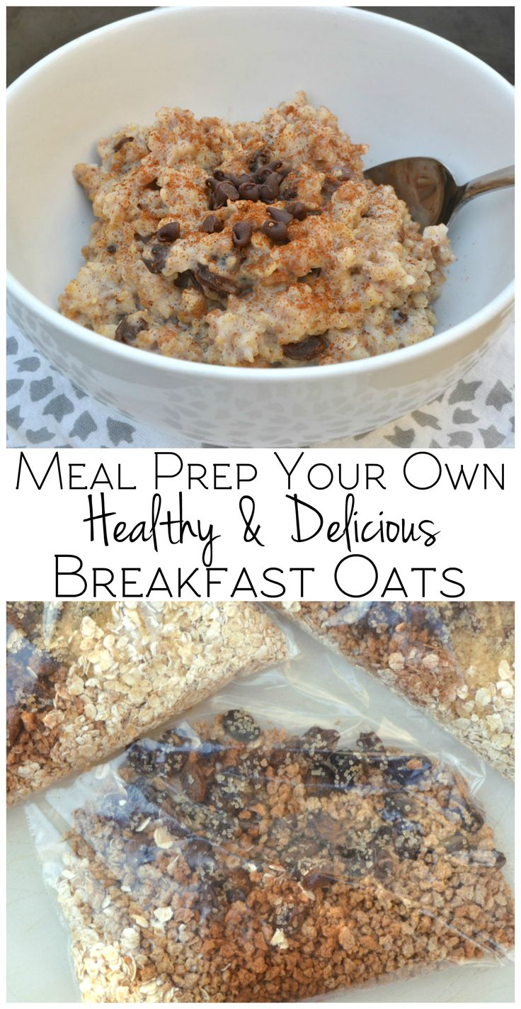 Meal prep your own quick & healthy breakfast oats. Grape-Nuts & Quick Oats is filling, delicious and nutritious | #spoonfulsofgoodness #ad |https://ooh.li/e950bf8