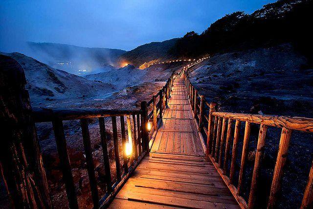 Giappone  ~ Hell Valley, Noboribetsu, Hokkaido