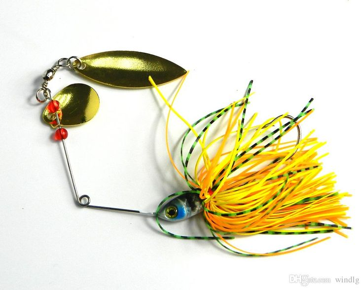 New 0.61oz Fishing Lure Spinner Baits Spinners Double Piece Spinners Fishing Lures Hard Baits 17.4g Free Shippping Homemade Fishing Lures Best Fishing Lures For Bass From Windlg, $19.1| Dhgate.Com