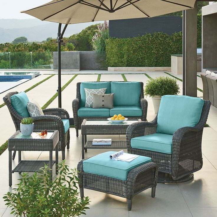 Outdoor Patio Furniture Home Goods: 25+ Best Ideas About Wicker Patio Furniture On Pinterest