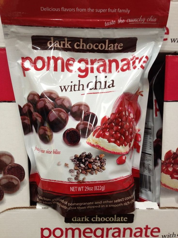 Brookside Dark Chocolate Covered Pomegranate With Chia 29 Ounce Bag Find Me www.secondhanddelights.com