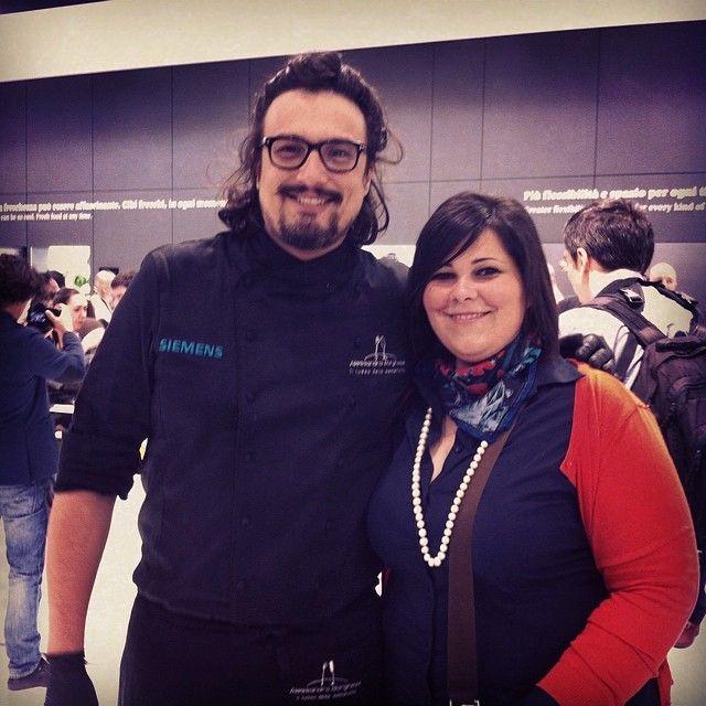 #alessandroborghese #cucinaconale #realtime #salonedelmobile2014 #eurocucina #standsiemens #siemensitalia