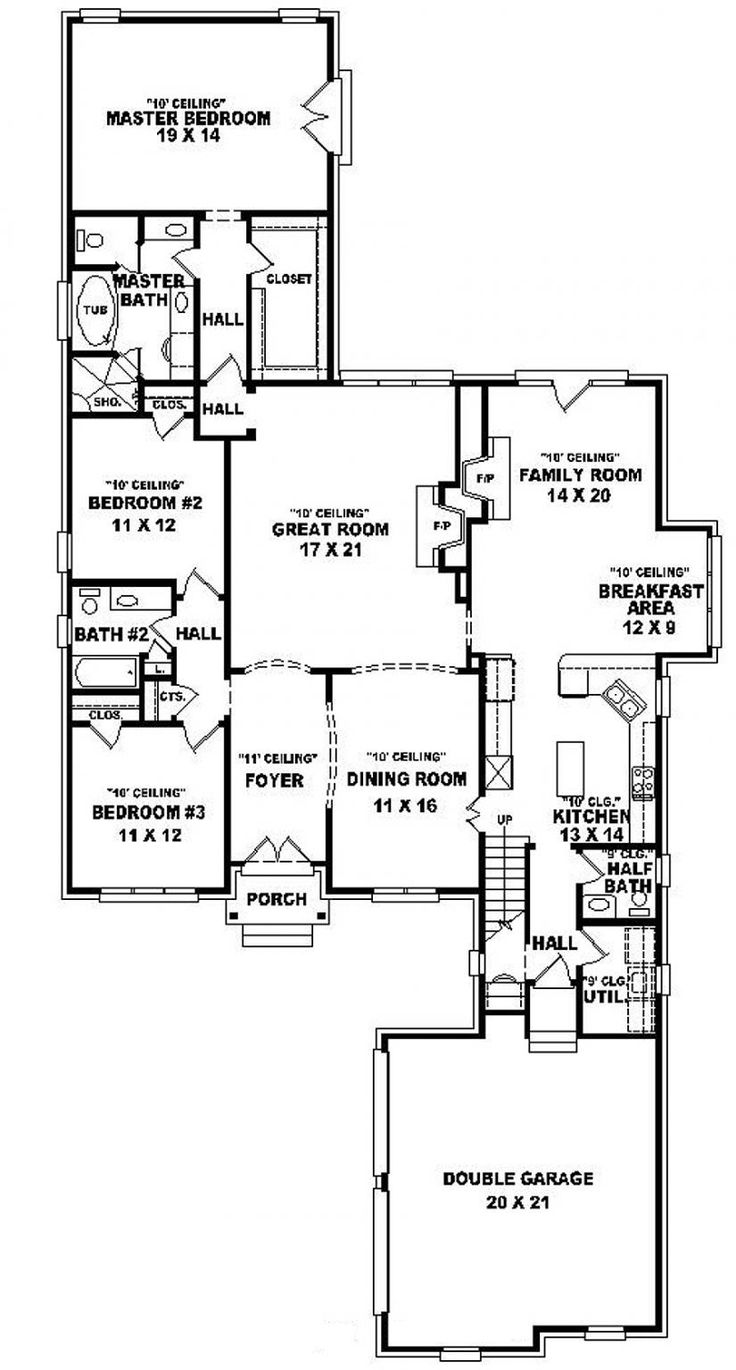 63 best House Plans images on Pinterest | Home plans, House floor ...