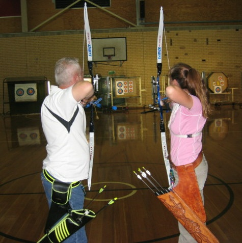 Archery at Ingle Farm Recreation Centre in the City of Salisbury, South Australia. @cityofsalisbury #sport