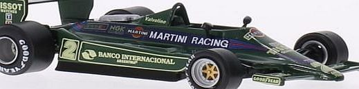 Lotus 79, No.2, team Lotus, Martini racing, formula 1, 1979, Model Car, Ready-made, SpecialC.-79 1:43 Our car models are in scale and true to the original models for adult collectors, not toys for children! (Barcode EAN = 4052176665008). http://www.comparestoreprices.co.uk/december-2016-week-1/lotus-79-no-2-team-lotus-martini-racing-formula-1-1979-model-car-ready-made-specialc-79-143.asp