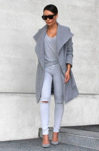 Jersey trench coat, Classic trench coat in all seasons http://www.justtrendygirls.com/classic-trench-coat-in-all-seasons/