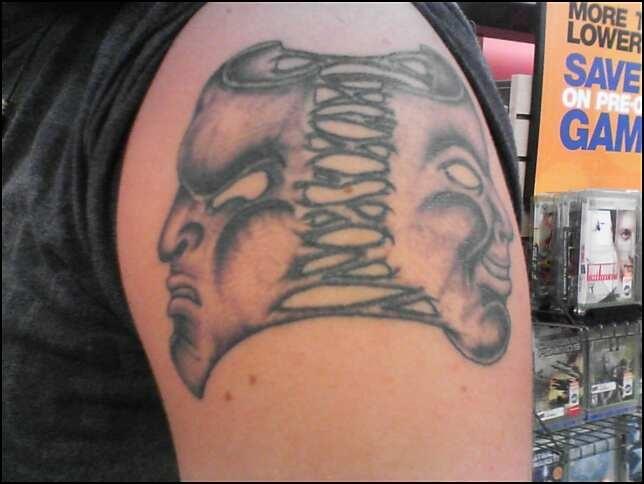 Pictures Of Good And Evil Mask Tattoos Kidskunst Info