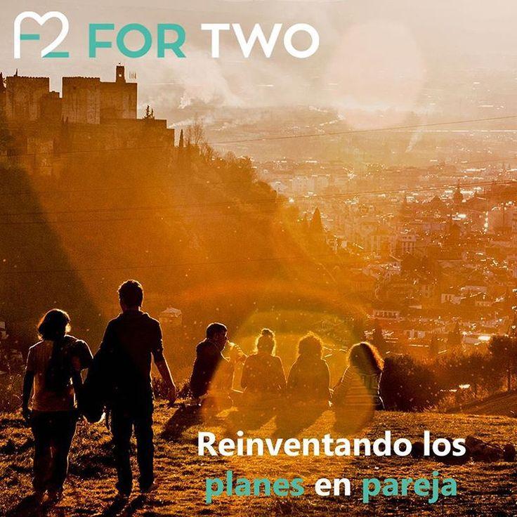 Hay una infinidad de posibilidades. #AlgoNuevo #ForTwo #Granada #Madrid #Barcelona #Pareja #Aventura #PlanesDiferentes