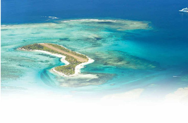 Mystery Island 1.5km square - swimming, snorkelling, walk around the island.