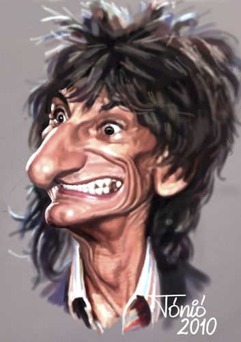 rock star carictures | ... Stones (medium) by Tonio tagged music,rock,and,roll,blues,english