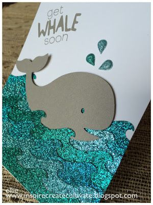 Love the idea of using glitter teal paper for water.  Great idea for cruise layouts.