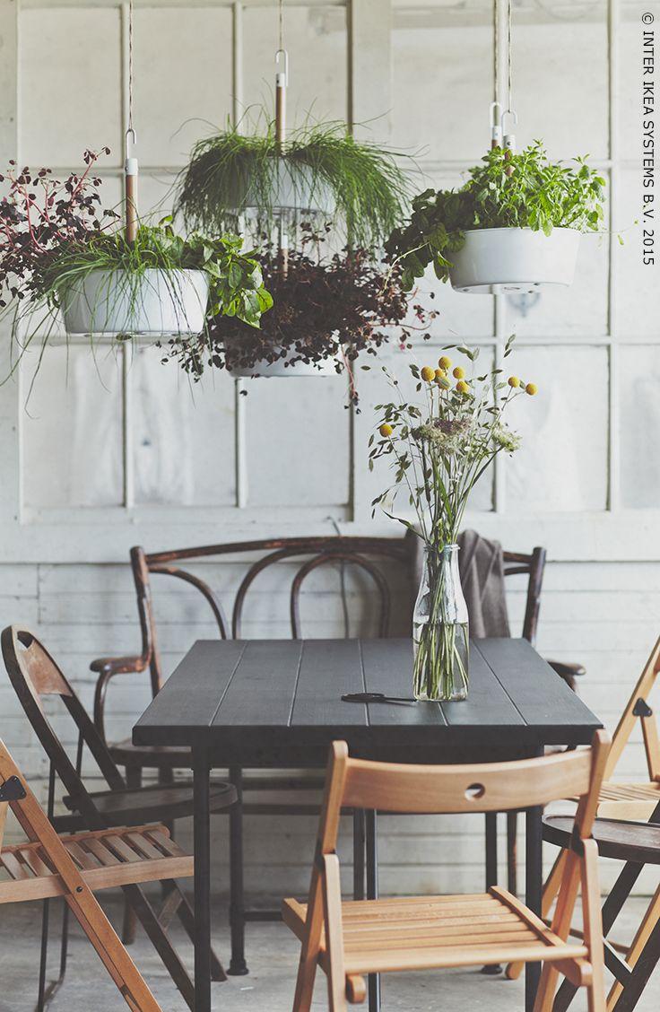 faites pousser vos propres herbes chez vous ikea sustainability durable ecologie jardiner. Black Bedroom Furniture Sets. Home Design Ideas