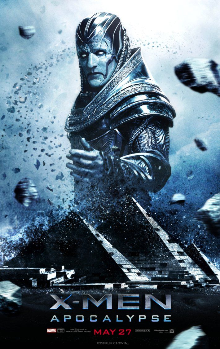 X Men Apocalypse - Poster 2 by CAMW1N on DeviantArt