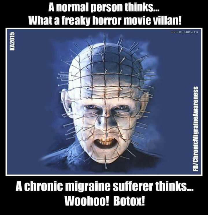 Migraine Botox injections for pain relief. :: 2/26/16