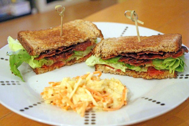 B.L.T : Recette du Sandwich Américain au Bacon, Laitue et Tomate