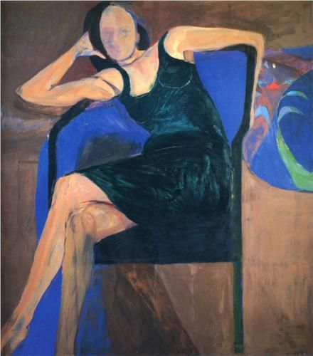 Seated Woman - Richard Diebenkorn