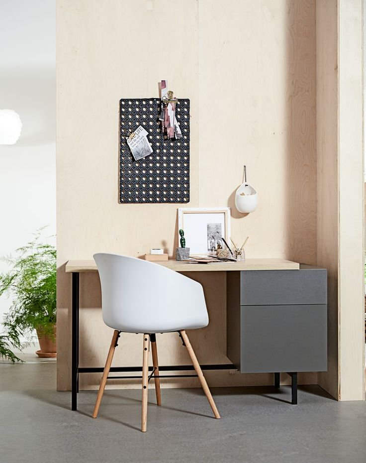 Casual contrast KALVEHAVE tuoli + ULLITS työpöytä