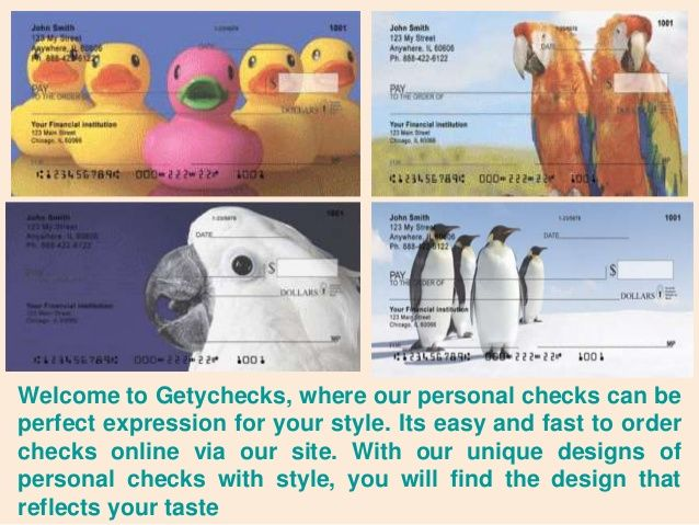If you're looking for ordering #PersonalChecks for use. We have something's that you should always consider. At #GetyChecks, you can order checks online including business checks, cheap business checks, voucher checks, at great prices.