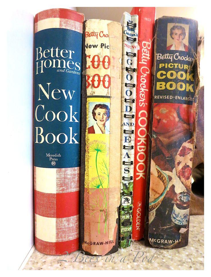 Betty Crocker Vintage Cookbooks 88
