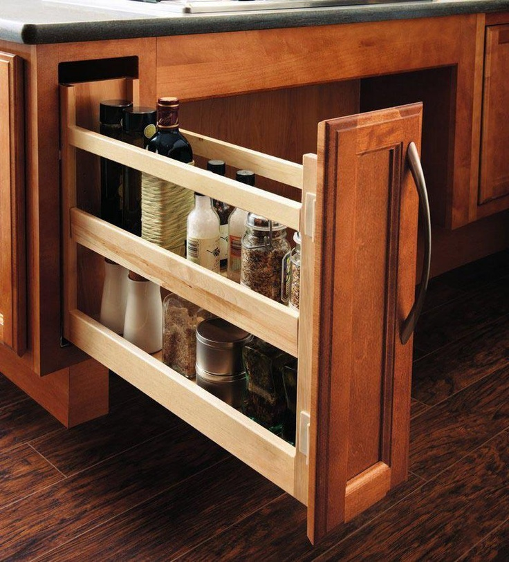 For a clutter-free kitchen. :) (c/o Decor)
