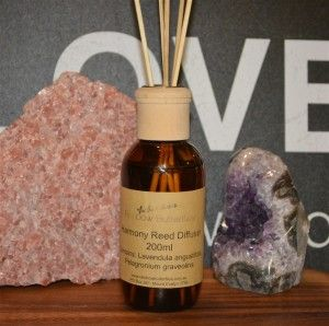 Harmony Reed diffuser Harmony Reed Diffuser is designed to bring balance and calm, using the essential oils of Lavender and Geranium