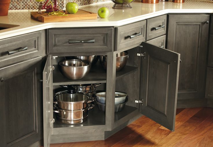 An Irregular Shaped Kitchen Is No Match For This Cabinet