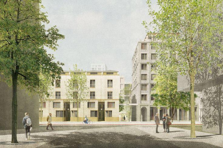 Sergison Bates . Cadixwijk housing . Antwerpen (2)