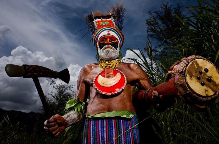 Папуа Новая Гвинея - меняющаяся культура