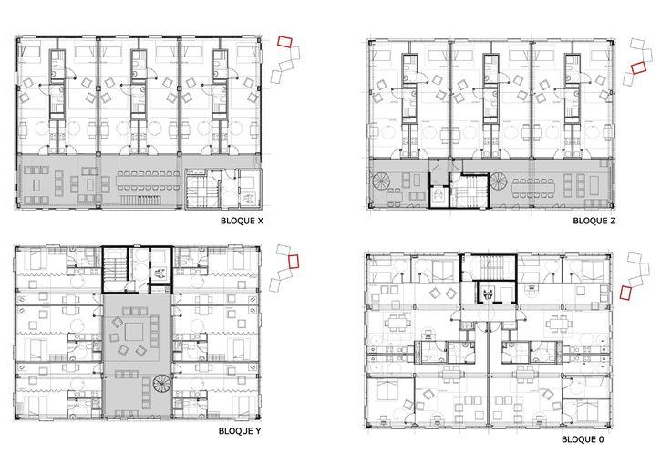 UNIVERSITY HOUSING - Projects - Guallart Architects