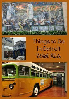 Things to Do in #Detroit #familytravel #travel