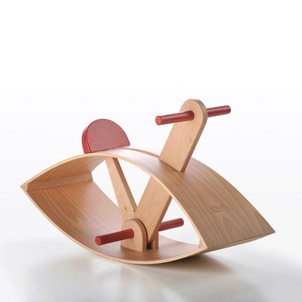 rocking horse C02, Emanuel Rufo wooden toys