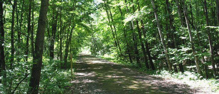 Gandy Dancer Trail...near Interstate!