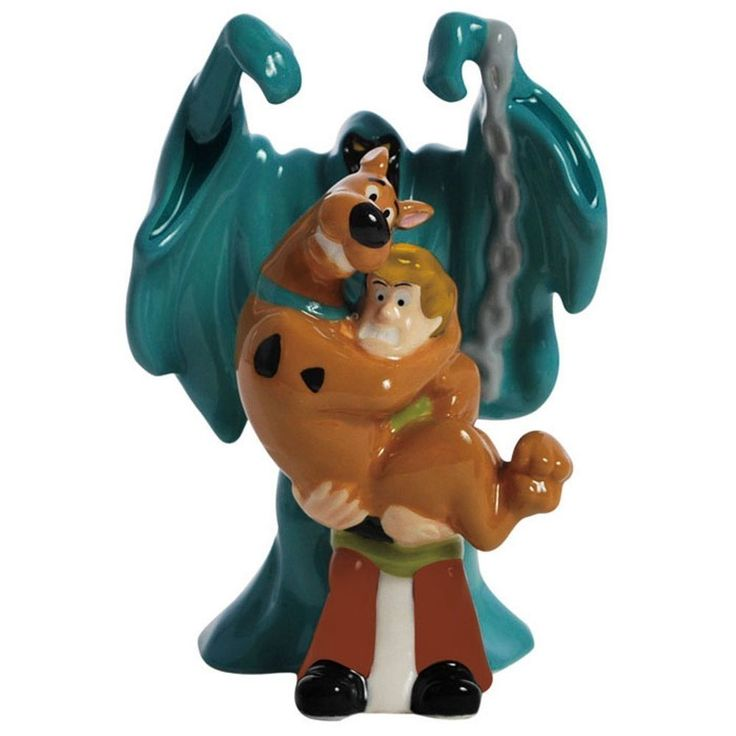Scooby Doo, Shaggy And Scary Ghost Magnetic Salt & Pepper