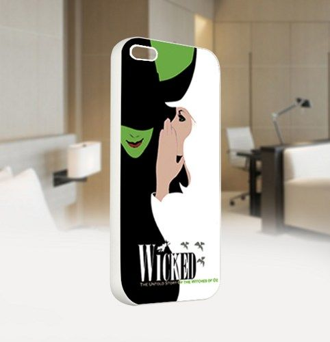 Wicked Broadway New Musical Logo - For IPhone 5 White Case Cover