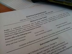How to Write a Great Profile Statement for your Resume