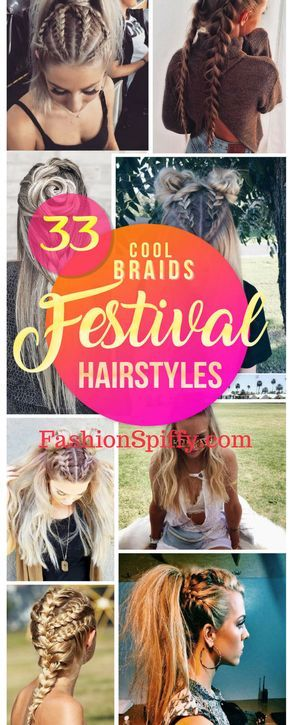 33 COOL BRAIDS FESTIVAL HAIRSTYLES | Hairstyles for Medium Long Hairs