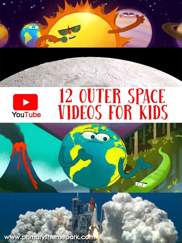 12 YouTube Outer Space Videos for Kids