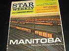 Nov. 16, 1963 Weekend Magazine Star Weekly Manitoba Winnipeg Blue Bombers - 1963, blue, Bombers, MAGAZINE, Manitoba, Nov., STAR, WEEKEND, Weekly, WINNIPEG