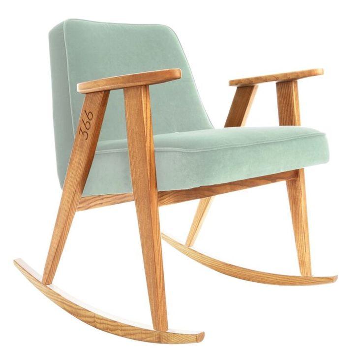 rocking chair 366 - série fauteuil 366 - Jozef Chierowski 366 concept www.slavia-vintage.com