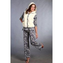 Костюм для дома: пижама и жилет из велсофта!