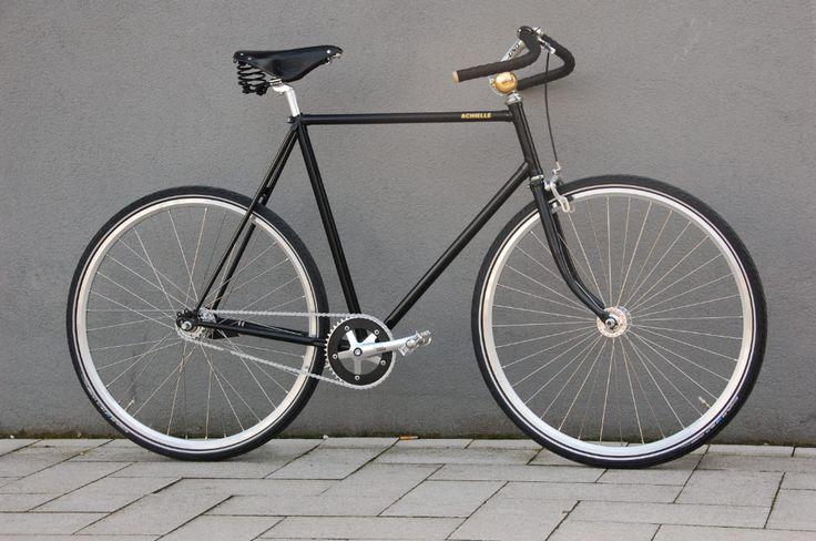 All black Sam Naked fixed bike